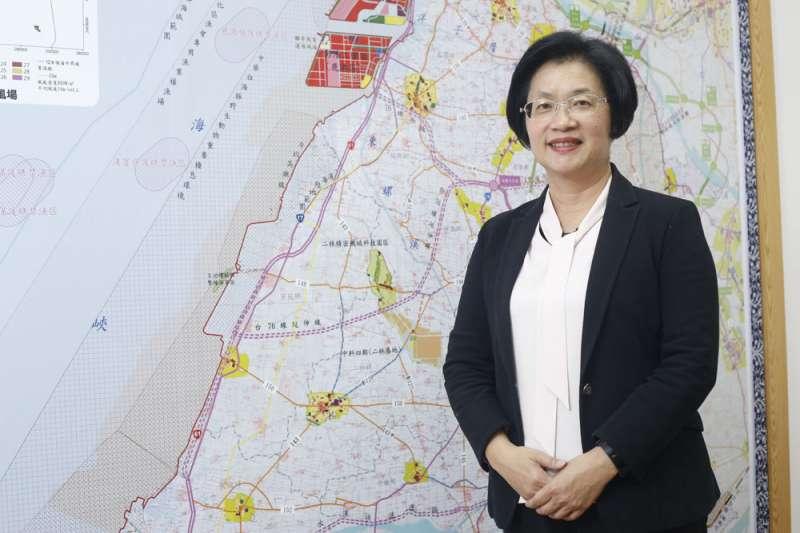 對於上任之初民調名列後段班,王惠美其實並不意外。(郭晉瑋攝)
