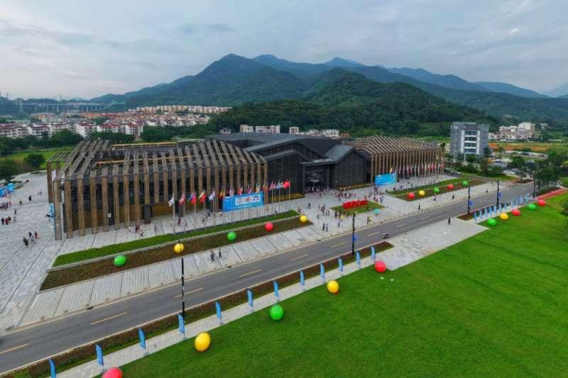 世界生態設計大會的永久會址,前身是一個廢置的農貿市場。(新華社)