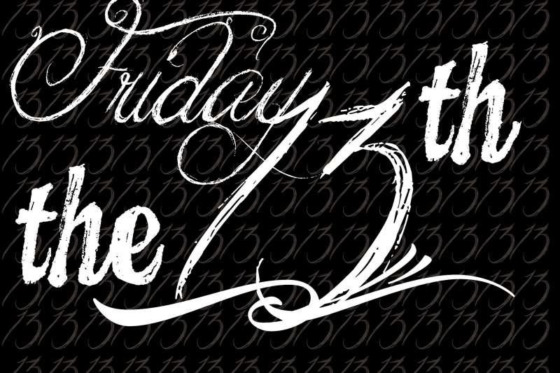 13號星期五,是許多人害怕的一天。(J Lloa@Pixabay)