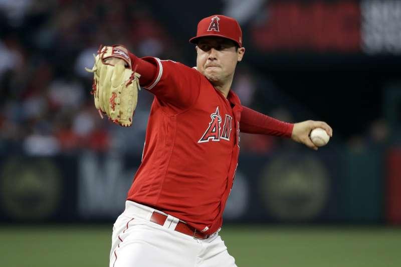 27歲的洛杉磯天使投手史凱格斯(Tyler Skaggs)驟逝引發震驚。(AP)