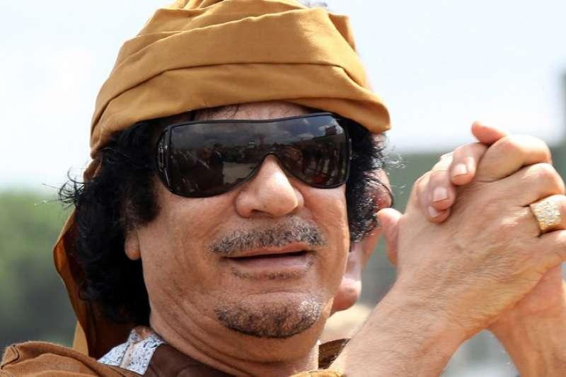 利比亞前強人格達費上校(BBC)