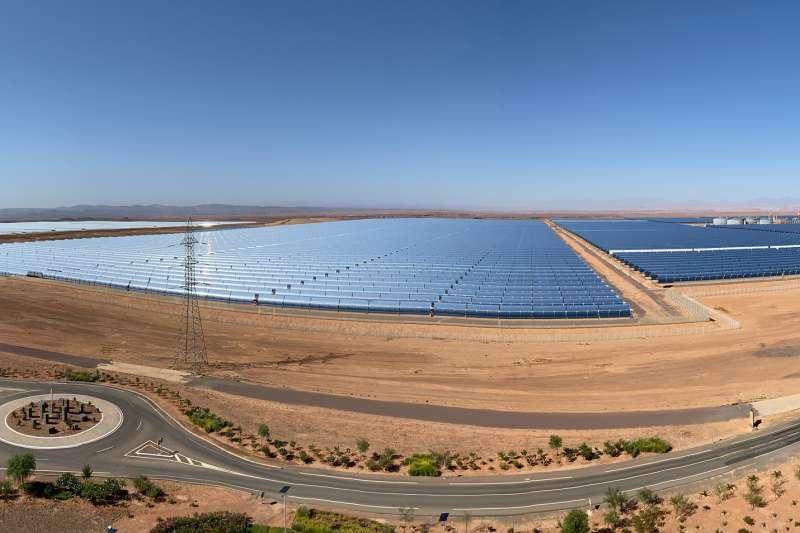 摩洛哥擁有世界最大太陽能發電站,尖峰時刻可以提供5.8億瓦的電。(Richard Allaway@flickr)