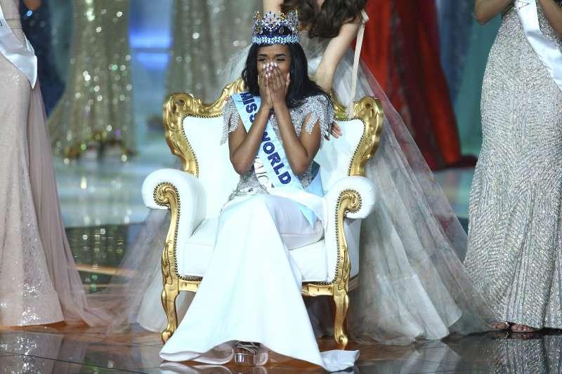 2019年世界小姐得主是來自牙買加的辛格(AP)