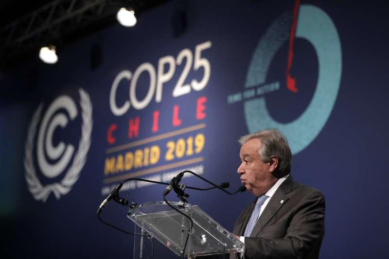 氣候峰會COP 25沒有進一步共識,聯合國秘書長古特雷斯直言令人失望(AP)