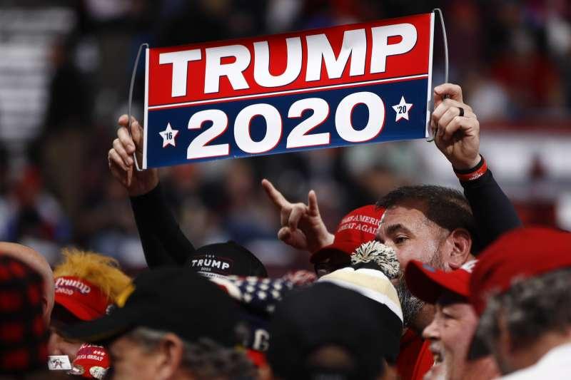 美國2020年總統大選、川普支持者。(AP)