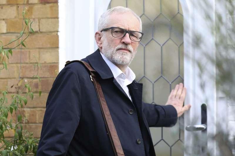 2019年英國大選,工黨領導人柯賓(Jeremy Corbyn)慘敗(AP)