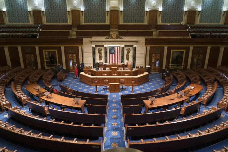 美國聯邦眾議院。(美聯社)