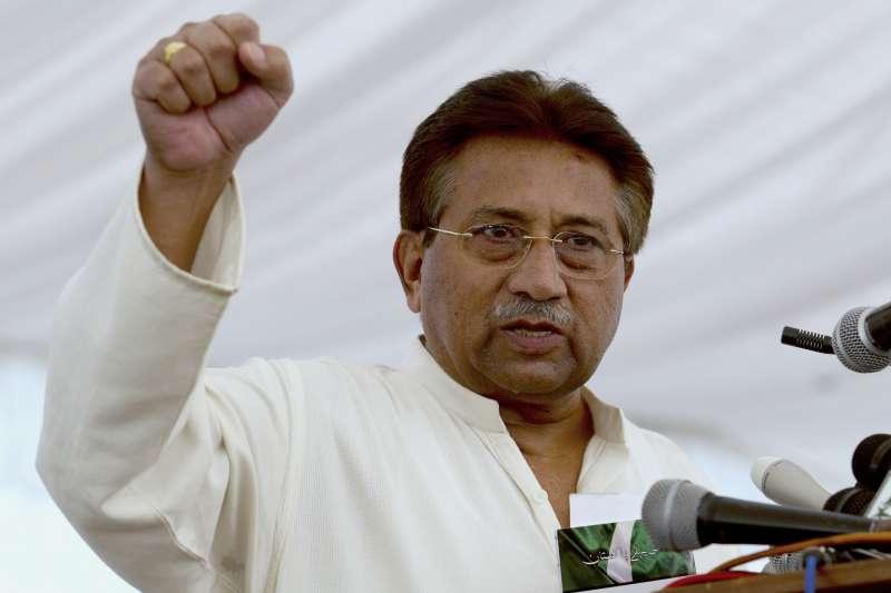 在沙烏地阿拉伯治病的巴基斯坦前總統穆夏拉夫將軍被特別法庭判處死刑。(AP)