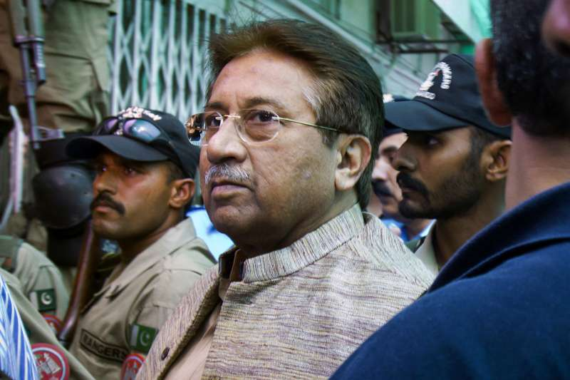 巴基斯坦前總統穆夏拉夫(Pervez Musharraf)(AP)