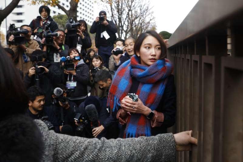指控主管對她性侵的日本前記者伊藤詩織,終於在民事官司獲判勝訴。(美聯社)
