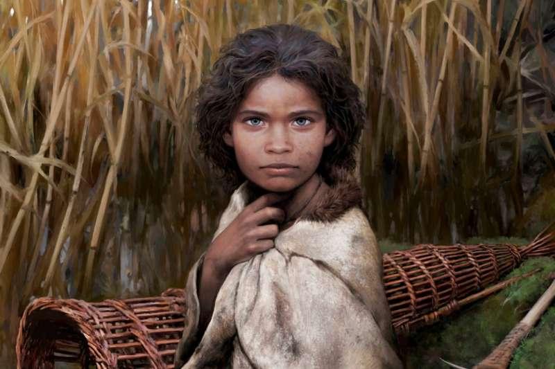 國際頂尖科學期刊《自然通訊》最新一期的研究指出,研究人員利用一塊樺樹瀝青,重建5700年前丹麥女孩蘿拉的基因組(截自YouTube)