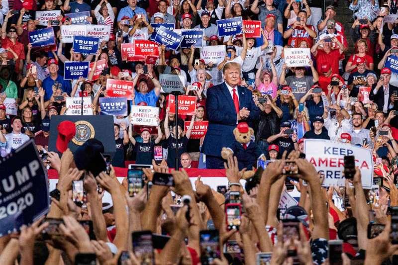 川普的崛起,代表美國人要求回復美國傳統價值的聲音。(翻攝自Donald Trump Twitter)