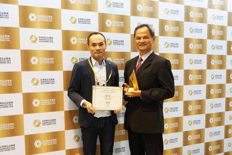 康揚高階站立式電動輪椅EVO Altus 獲頒台灣精品金質獎