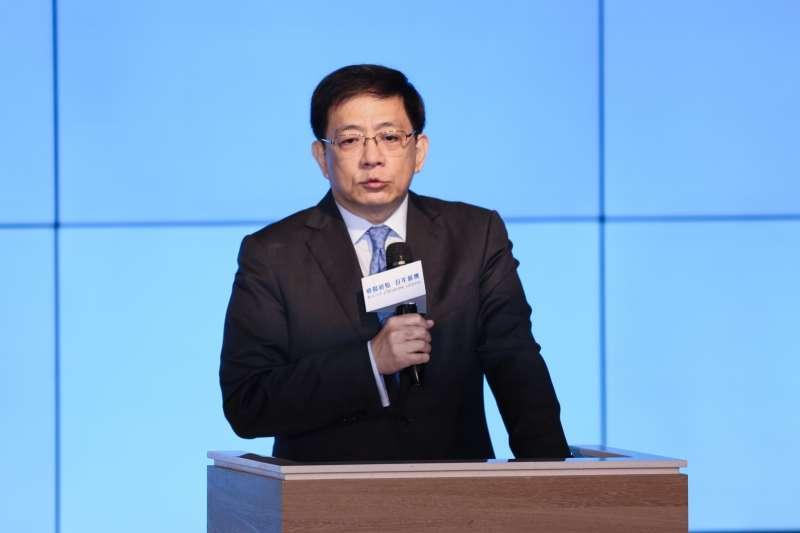 20191219-台大校長管中閔19日出席「癌醫初始,百年薪傳」活動。(簡必丞攝)