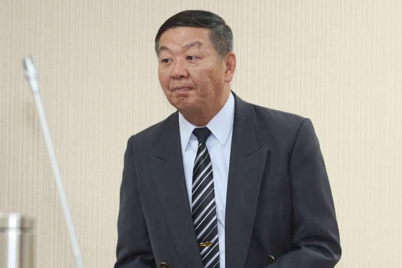 黃曙光若升任副部長,潛艦案如出包恐由國防部承受第一擊。(郭晉瑋攝)