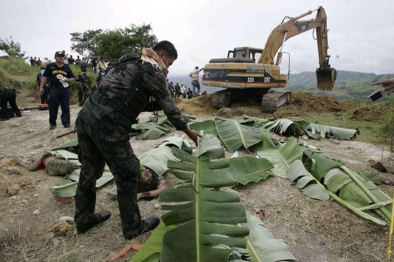 2019年11月23日,菲律賓「馬京達瑙屠殺案」(Maguindanao massacre)案發地點。(AP)