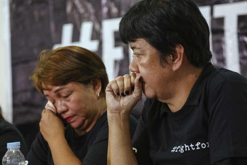 2019年12月19日,菲律賓「馬京達瑙屠殺案」(Maguindanao massacre)宣判,被害人家屬感慨萬千(AP)