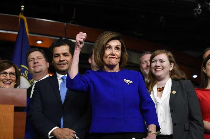 美國聯邦眾議院19日壓倒性通過新版北美貿易協定'。(AP)