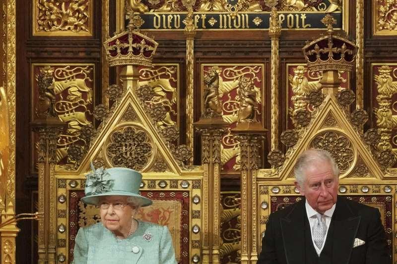 英國女王伊麗莎白二世。(AP)