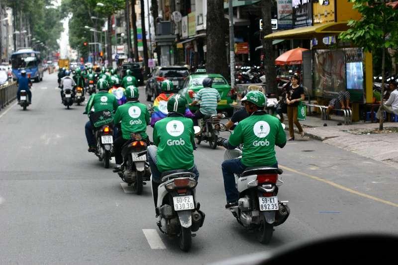 Grab除了是東南亞最大的叫車平台,服務範圍涵蓋即時共乘、外送、出行服務、金融等內容。(圖/金庫資本)