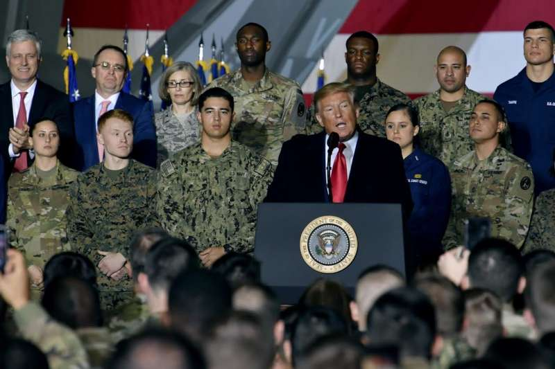 2019年12月20日,美國總統川普正式宣布太空軍(Space Force)成立(U. S. Space Force)