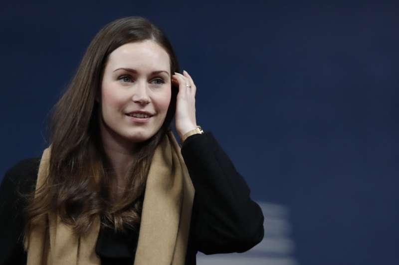 2019年12月,34歲的馬林(Sanna Marin)成為芬蘭史上最年輕總理(AP)