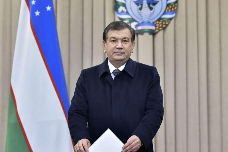 中亞國家烏茲別克總統米爾濟約耶夫(資料照,AP)