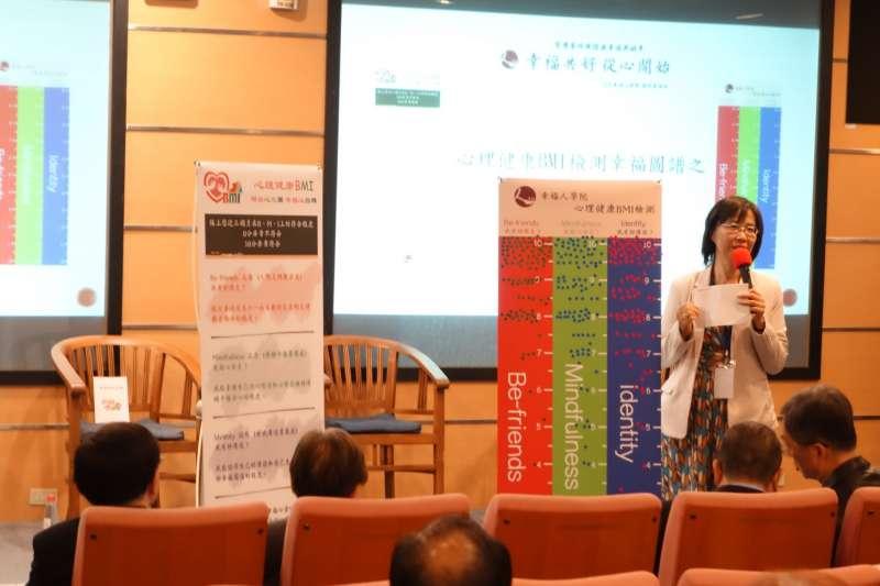 臺灣諮商心理學會理事長李玉嬋表示,心理健康不該被忽視(圖/李玉嬋 幸福策略心聯盟)