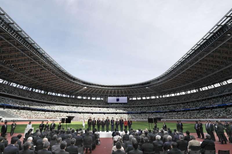 東京奧運預算持續上漲,直逼260億美金。(AP)