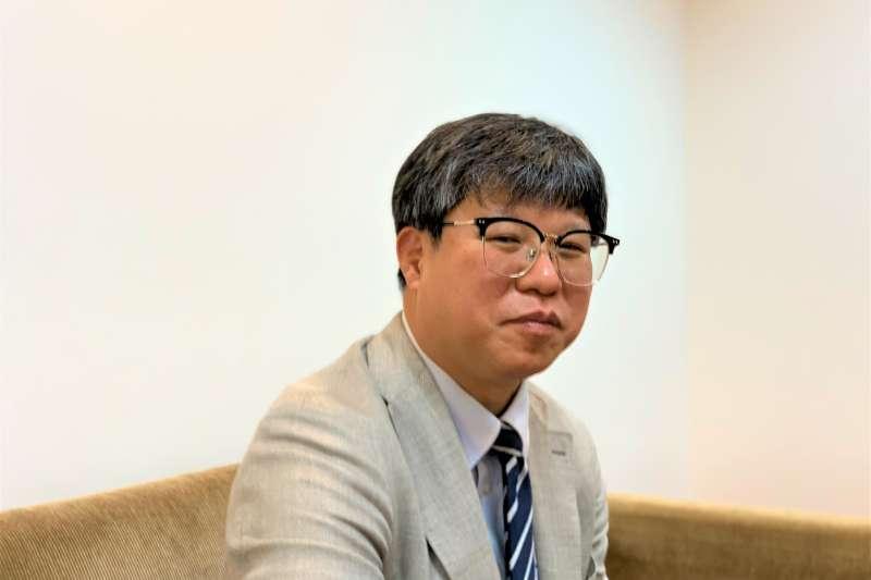 南韓慶尚大學北韓專家朴鍾喆(簡恒宇攝)