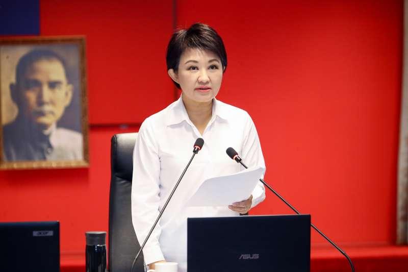 台中市長盧秀燕宣布廢止中火2部機組許可證。(圖/台中市政府提供)