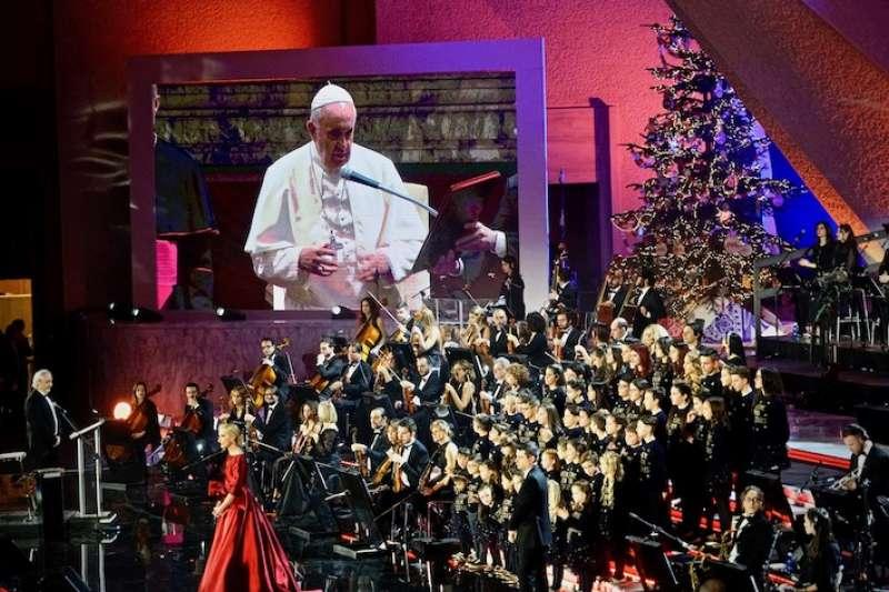第27屆梵蒂岡聖誕慈善音樂會(曾廣儀攝)