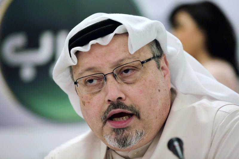 2018年10月2日,沙烏地阿拉伯異議記者哈紹吉(Jamal Khashoggi)遭王儲穆罕默德下令殺害(AP)