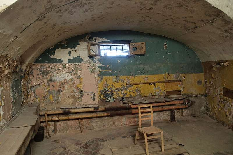 愛沙尼亞的帕塔雷堡壘是蘇聯時期關押犯人的監獄。(JIP@wikipedia/CC BY-SA 3.0)