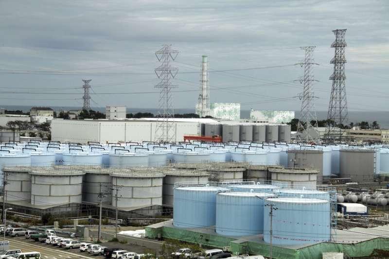 日本福島第一核電廠。(美聯社)