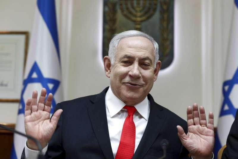 以色列總理納坦雅胡。(美聯社)
