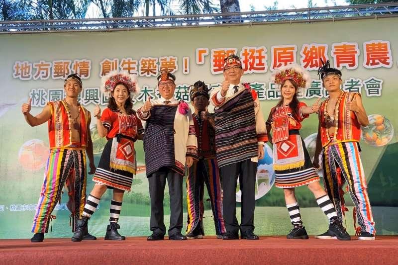 中華郵政公司董事長吳宏謀表示,「服務有溫度,人民有感動」一直是中華郵政公司追求的方向。(圖/中華郵政提供)