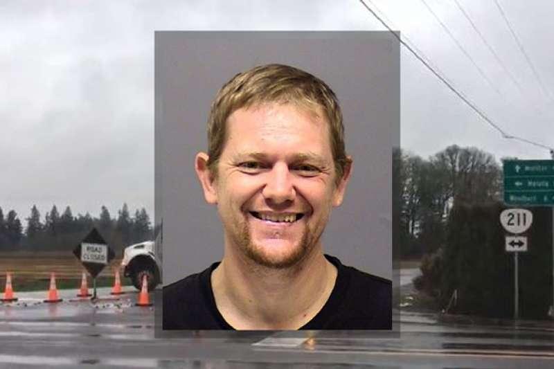 2019年1月19日,美國俄勒岡州克拉克馬斯郡發生滅門案,42歲的凶嫌蓋戈(Mark Gago)(網路擷圖)