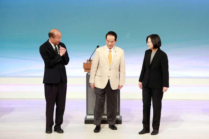 總統大選朝野三位候選人面對「中國難題」都失語。(台北市攝影記者聯誼會提供)