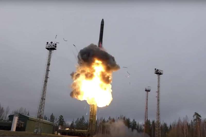 俄羅斯軍方發射洲際彈道飛彈(ICBM)(AP)