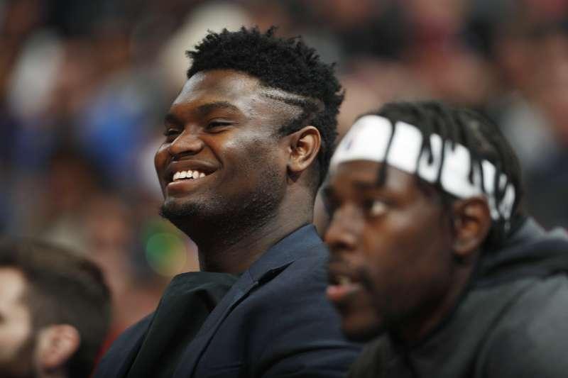 威廉森除了復健以外,也在針對雙腳負重與飲食習慣進行調整,有望在本季重返NBA賽場。(美聯社)