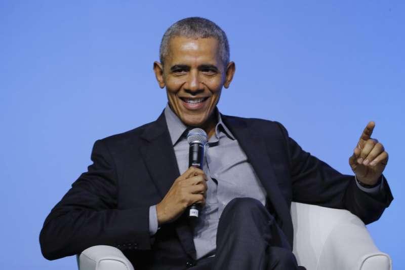 美國前總統歐巴馬分享年度書單、片單。(美聯社)