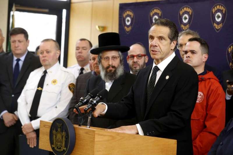 紐約州長柯謨要求警方徹查兇嫌是不是恐怖分子。(美聯社)
