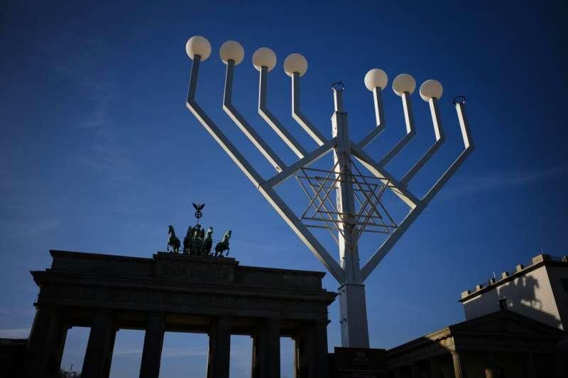 猶太教的光明節。(美聯社)