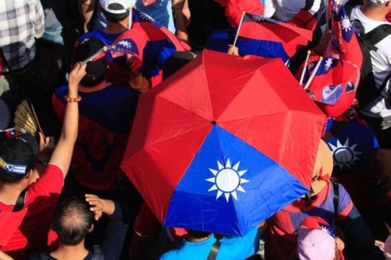 台灣總統蔡英文力推反滲透法,防範境外敵對勢力。(BBC中文網/GETTY IMAGES)