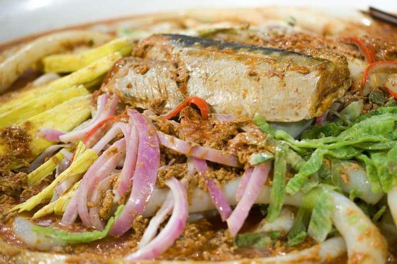 馬來西亞道地美食叻沙laksa(圖片取自Pixabay)