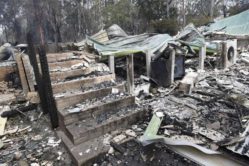 2019年底,澳洲野火連天(AP)