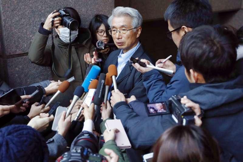 戈恩在日本的辯護律師弘中惇一郎