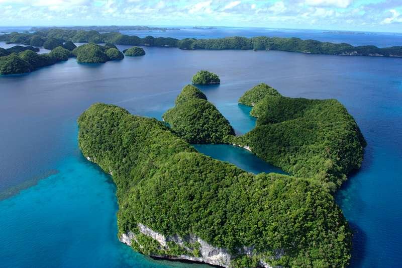 我國友邦帛琉坐擁得天獨厚的海洋美景。(LuxTonnerre@Wijipedia/CC BY 2.0)