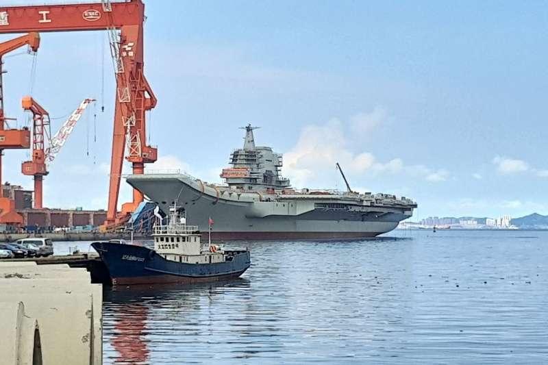 國防部軍政副部長張哲平上將今(21)日上午進一步表示,研判山東號的目的是為前往南海進行訓練。(資料照,取自GG001213)